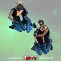 SuperHero Down for G2F and G2M Volume 3 image 4