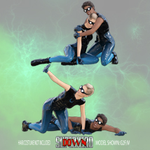 SuperHero Down for G2F and G2M Volume 3 image 5