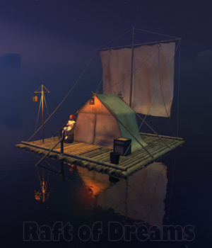 Raft of Dreams 3D Models 1971s