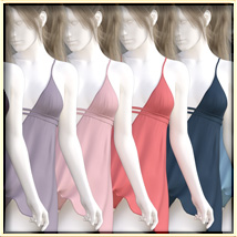 Faxhion - Draping Babydoll Lingerie image 5