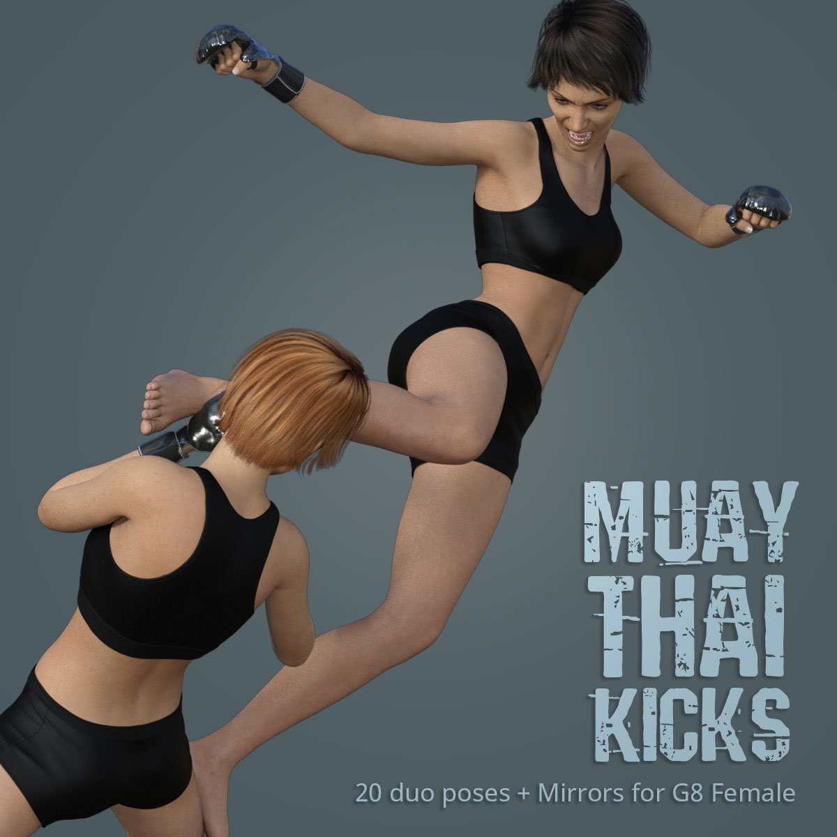 MUAY THAI KICKS for Genesis 8 Female