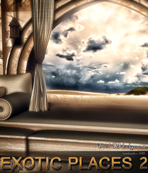Exotic Places 2 - 2D backgrounds 2D Graphics bonbonka