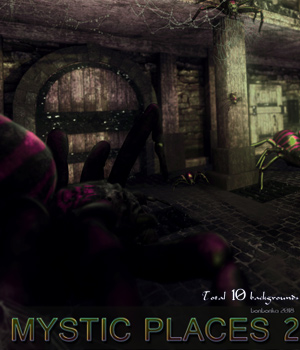 Mystic Places 2 - 2D backgrounds 2D Graphics bonbonka