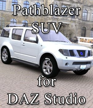 Pathblazer SUV for DAZ Studio 3D Models VanishingPoint