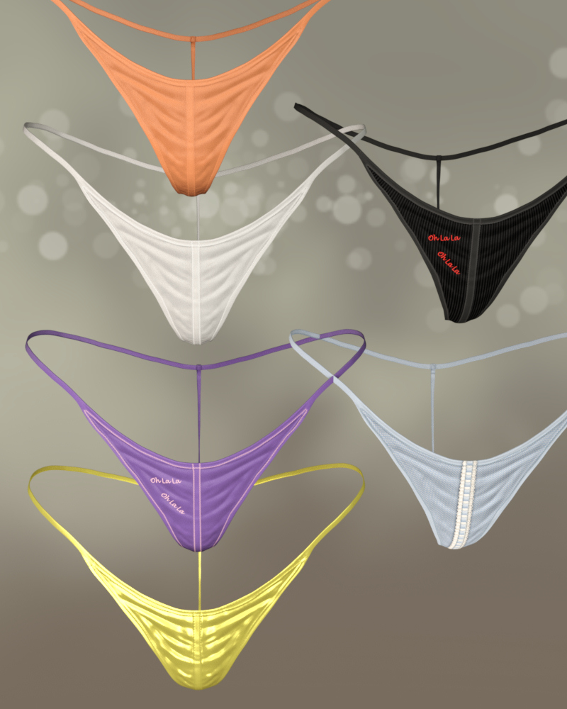 OhLaLa Panty for Genesis 8 Female by Karth