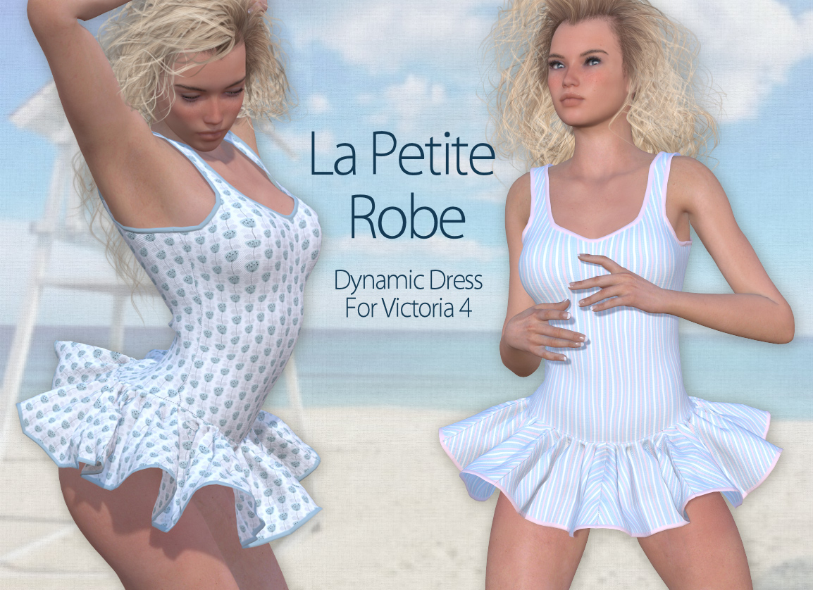 La Petite Robe for V4 and Poser by Tipol