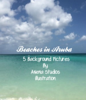 Beaches In Aruba 2D Graphics ANeNa