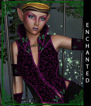 Enchanted for Riverwillow 3D Figure Assets sandra_bonello