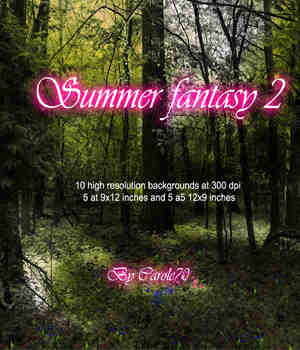 Summer Fantasy 2 2D Graphics Carole70
