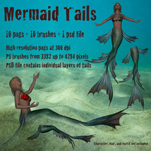 Mermaid Tails High Res  image 1