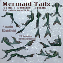 Mermaid Tails High Res  image 2