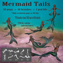 Mermaid Tails High Res  image 3