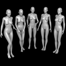 25 Standing Poses for G2F and Mirrors image 1