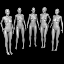 25 Standing Poses for G2F and Mirrors image 2