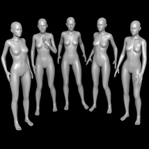 25 Standing Poses for G2F and Mirrors image 3