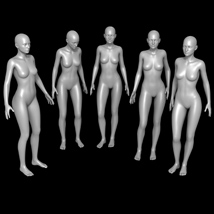 25 Standing Poses for G2F and Mirrors image 5