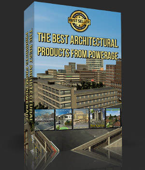 The Best Architectural Products from powerage 3D Models powerage