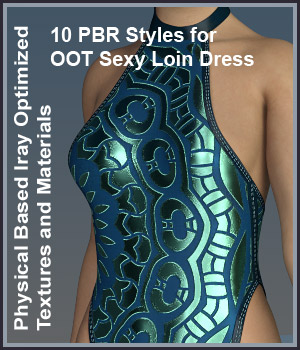 KW Sexy Loin Dress PBR Collection 3D Figure Assets karanta