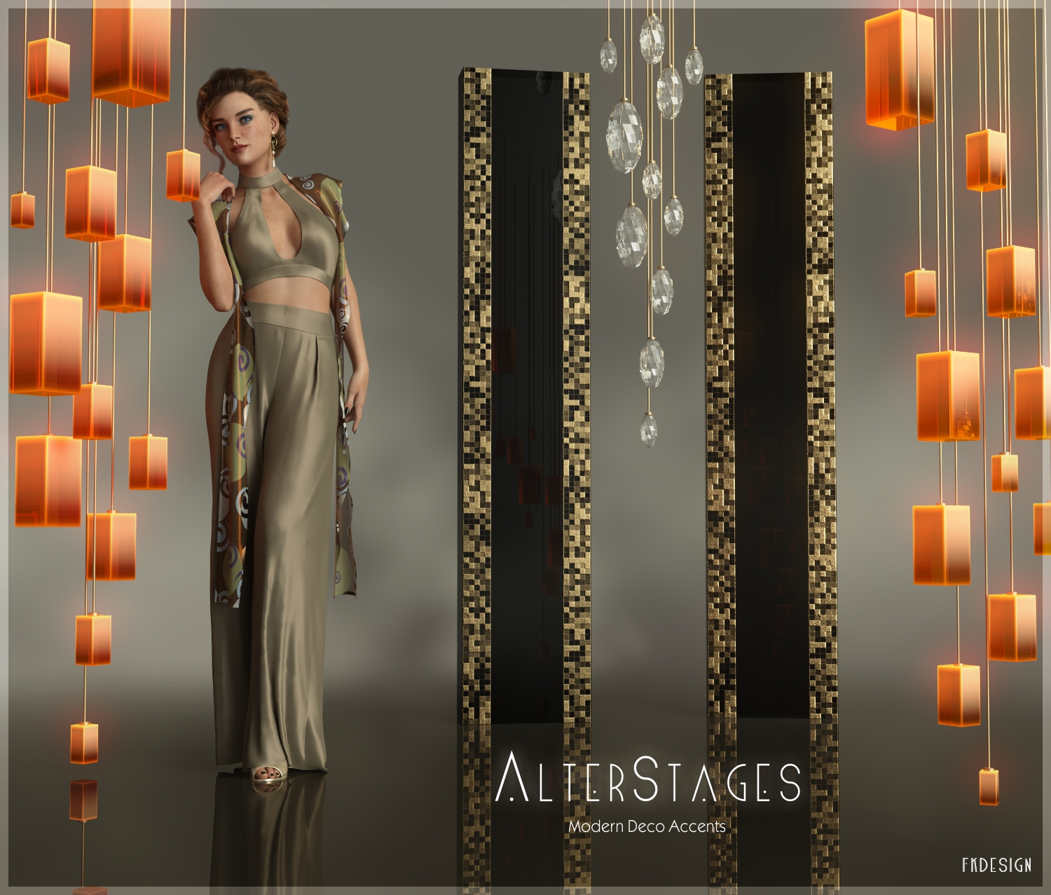AlterStages - Modern Deco Accents by fabiana