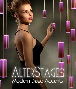 AlterStages - Modern Deco Accents 3D Models fabiana