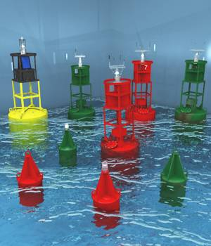Deep Sea Buoys For Vue 3D Models forester