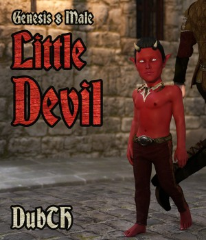 Little Devil For Genesis 8 Male 3D Figure Assets DubTH