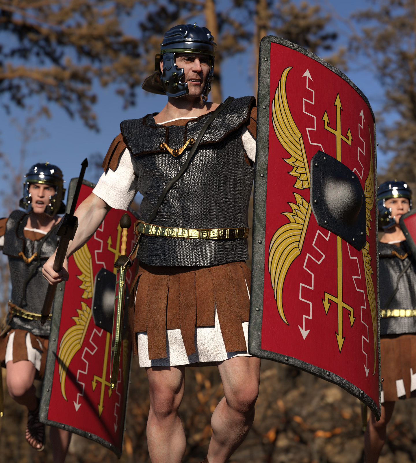 dForce Roman Legion for Genesis 8 Male