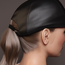 Basecap Ponytail Hair for Genesis 3 and 8 Female(s) image 8