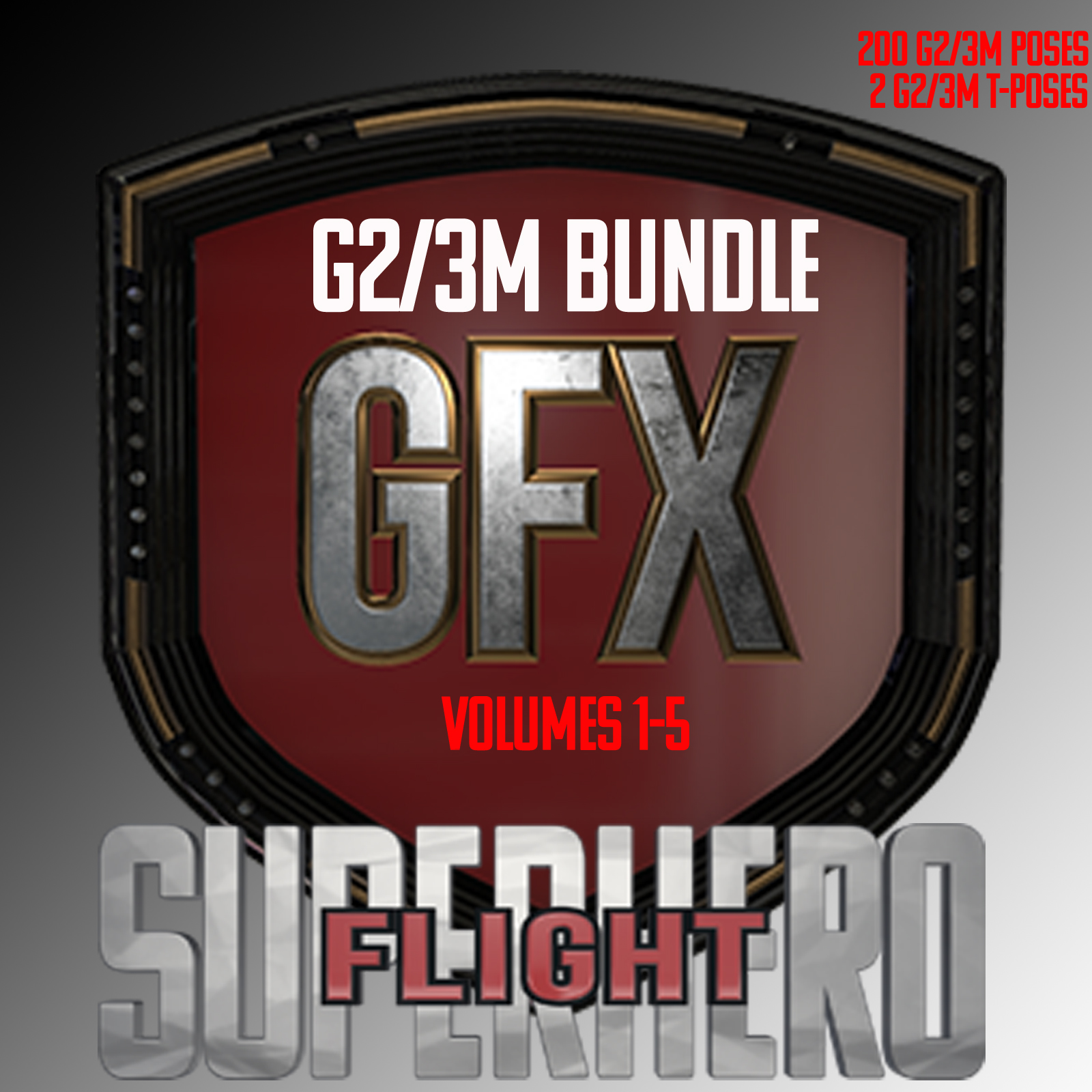SuperHero Flight Bundle for G2M and G3M