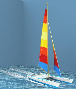 Cooks Catamaran For Vue 3D Models forester