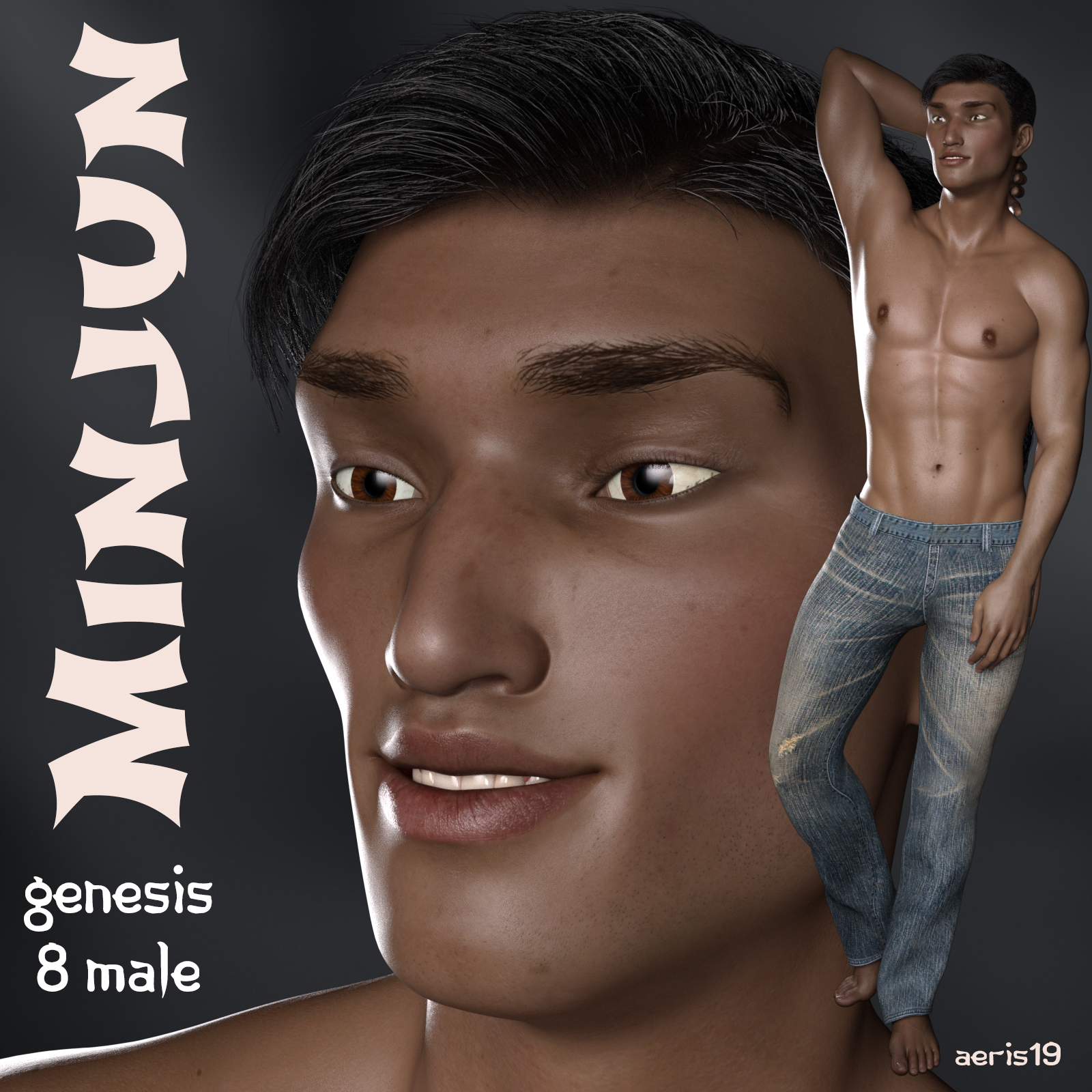 Minjun for Genesis 8 Male
