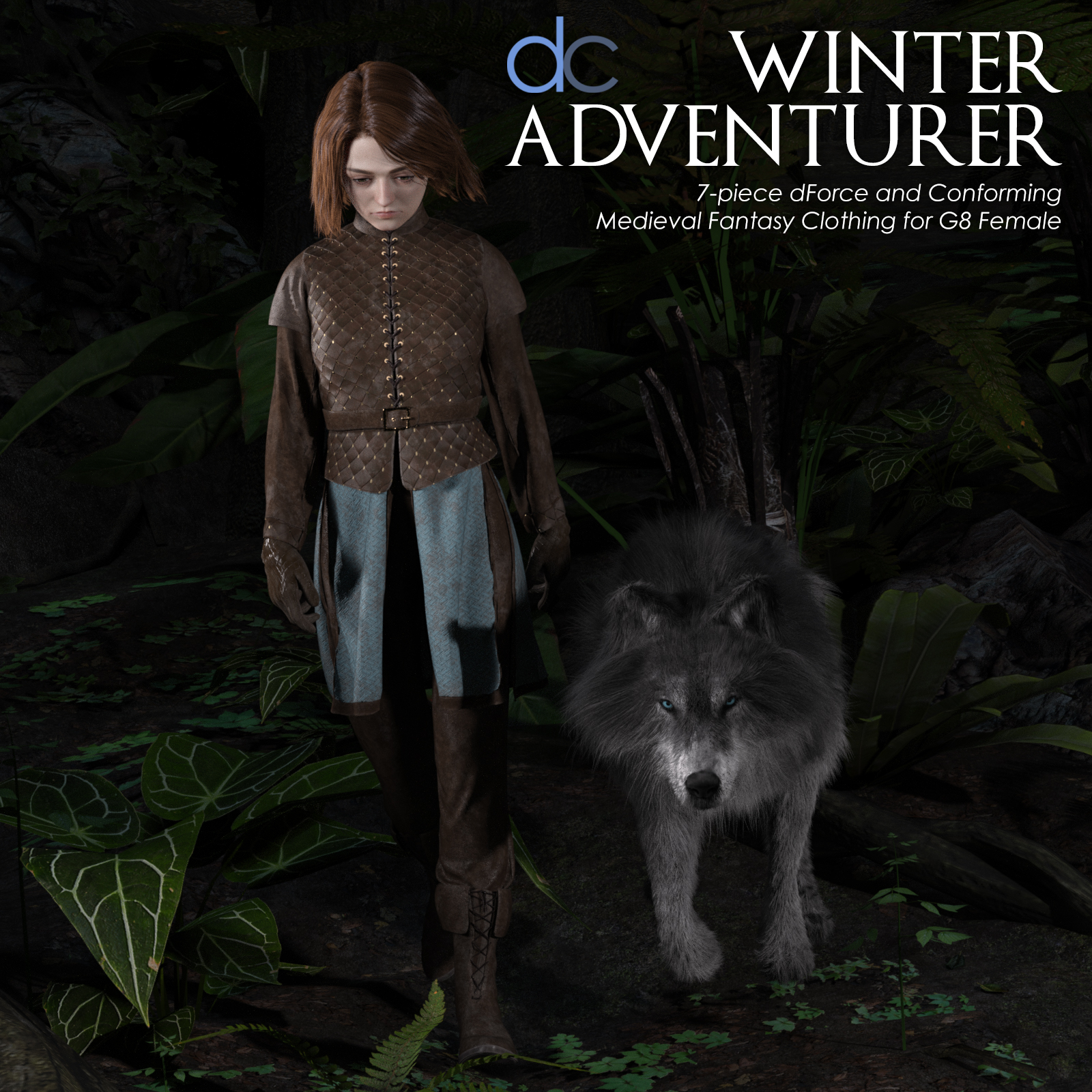 DC-Winter Adventurer for Genesis 8 Female