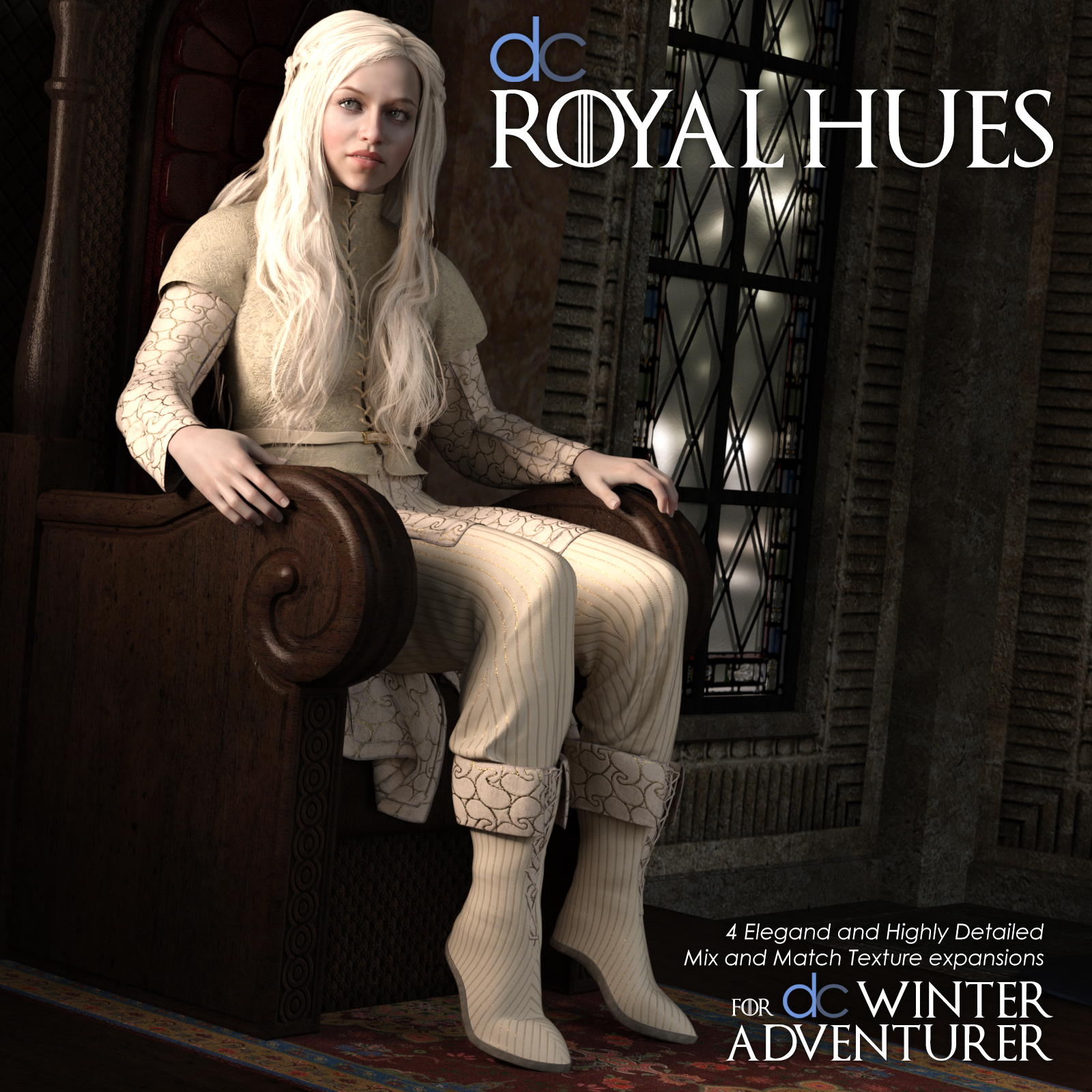 DC-Royal Hues Expansion for Winter Adventurer by Deecey