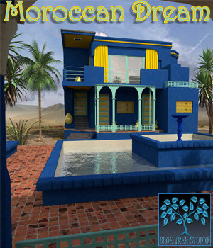 Moroccan Dream 3D Models BlueTreeStudio