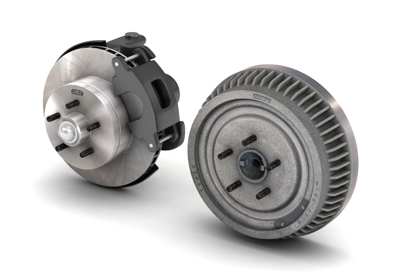 CAR AND TRUCK BRAKE SET - EXTENDED LICENSE