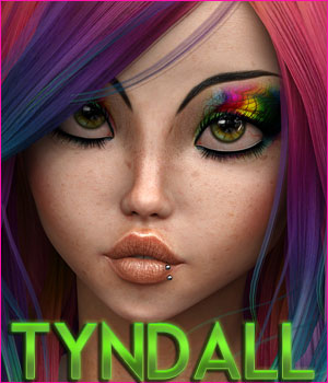 Tyndall for Genesis 8 Female 3D Figure Assets TwiztedMetal