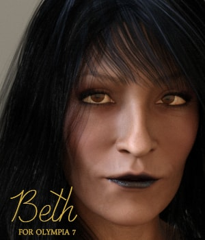 Beth for Olympia 7 3D Figure Assets AliveSheCried