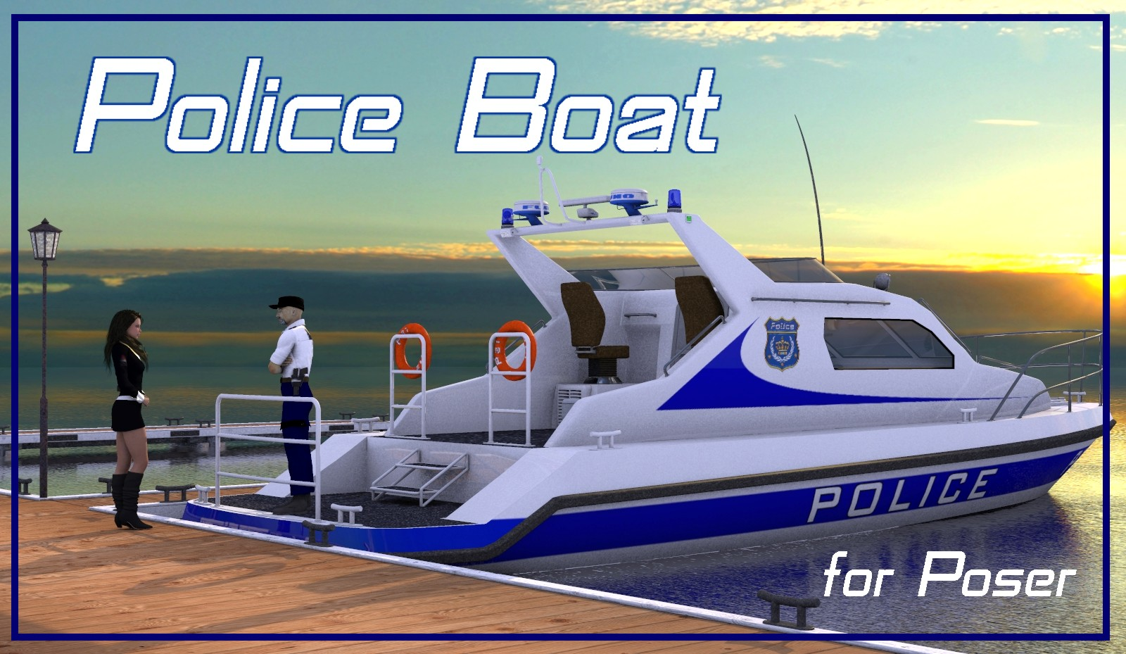 Police Boat by mausel