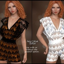 7th Ave: dForce - Butterfly Romper for G8F image 1