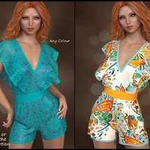 7th Ave: dForce - Butterfly Romper for G8F image 2