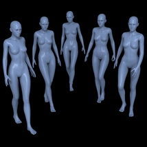 25 Walking Poses for G2F image 2