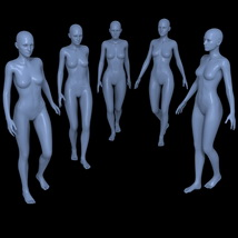 25 Walking Poses for G2F image 3