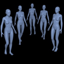 25 Walking Poses for G2F image 4