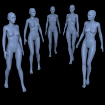 25 Walking Poses for G2F image 5