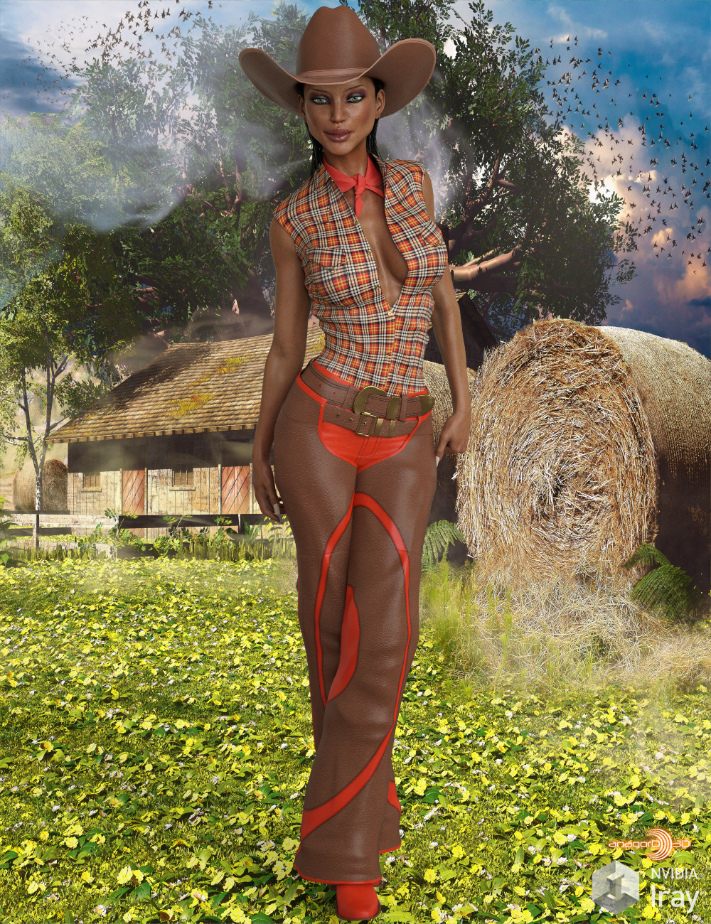 VERSUS - Cowboy for Genesis 3 Female(s)