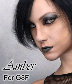 Amber for Genesis 8 Female 3D Figure Assets brahann