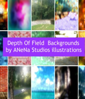 Depth of Field Backgrounds By ANena Studios illustration 2D Graphics ANeNa