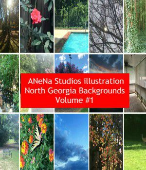ANena Studios illustration North Georgia Background Volume #1 2D Graphics ANeNa