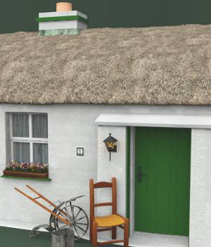 Irish Cottages For Vue 3D Models forester