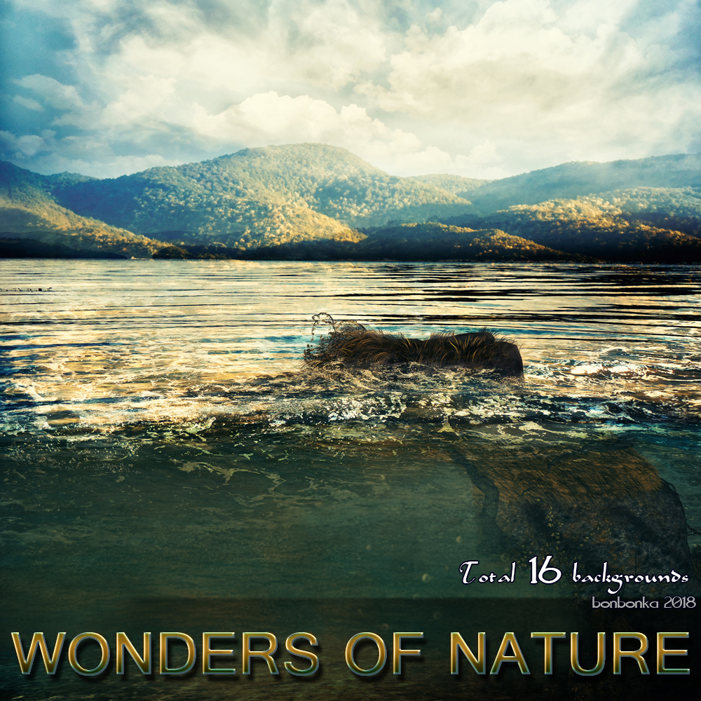 Wonders of Nature - 2D backgrounds